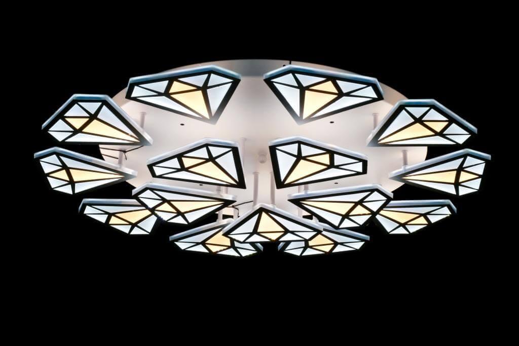 """светильник потолочный """"estetic diamond"""" - mn-top.ru"""